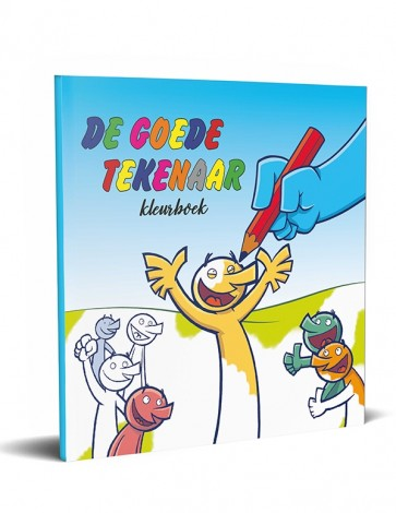 Nederlands De Goede Tekenaar Kleurboek