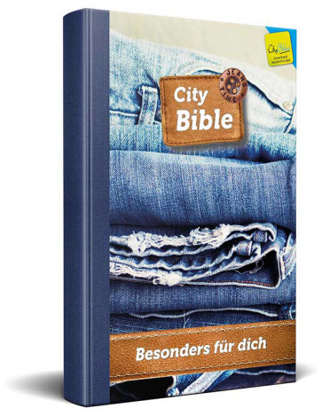 German New Testament Bible Jeans Cover