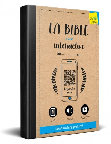 French Interactive Bible Blue