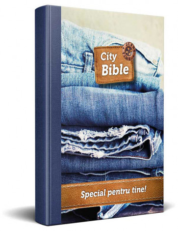 Romanian New Testament Bible Jeans Cover