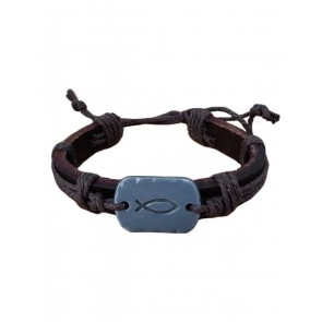 Bracelet Fish Leather