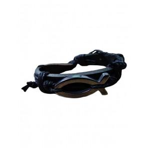Bracelet Fish Sliver Leather