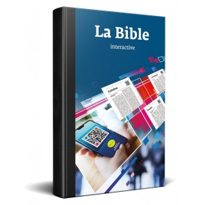 French Interactive Bible softcover
