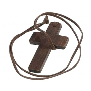 Necklace Wood Cross