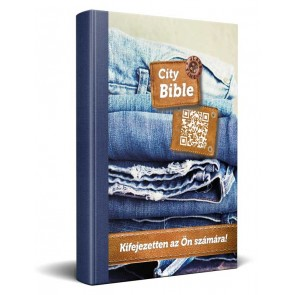 Hungarian New Testament Bible Jeans Cover