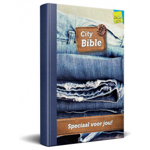 Dutch New Testament Bible Jeans Cover