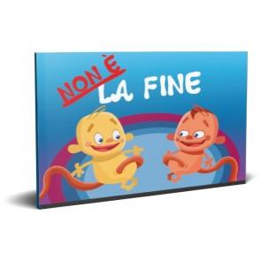Italiaans Niet het Einde Kinderboekje