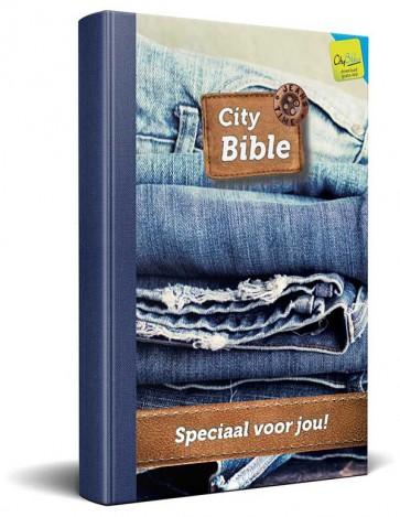 Dutch New Testament Bible Jeans Cover
