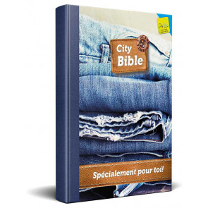 French New Testament Bible Jeans Cover